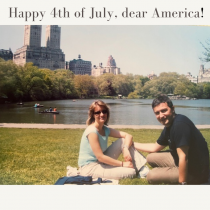 My first celebration of a 4th of July in New York